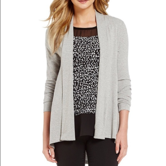 Vince Camuto Sweaters - NWT Vince Camuto Grey Cardigan